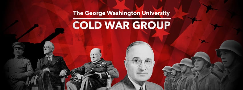 Historical figures from the Cold War era on the webpage for George Washington University Cold War Group